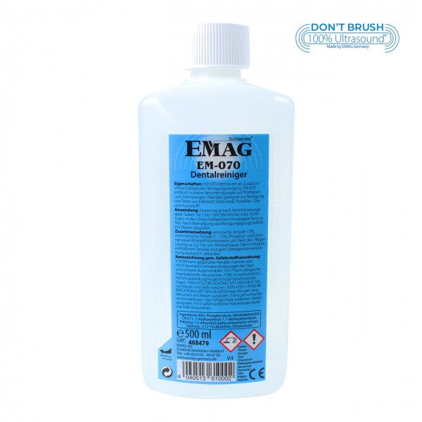 EM-070 500ml dental cleaner