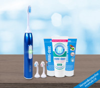 Ultrasonic toothbrush - Kids Set Dark Blue Metallic