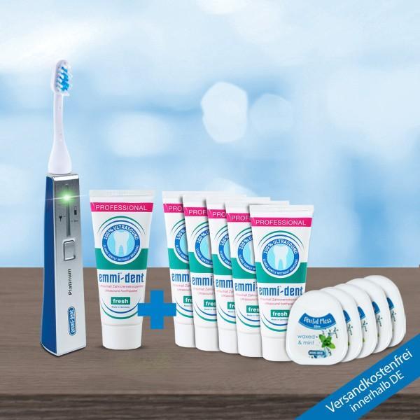 Ultrasonic toothbrush - Platinum Blue Stock Kit