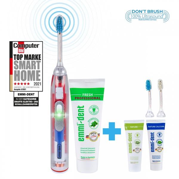 metallic-cristallin-nature-set-emmi-dent-ultrasonic-tootbrush-with-nature-toothpaste-and-nature-calcium-toothpaste