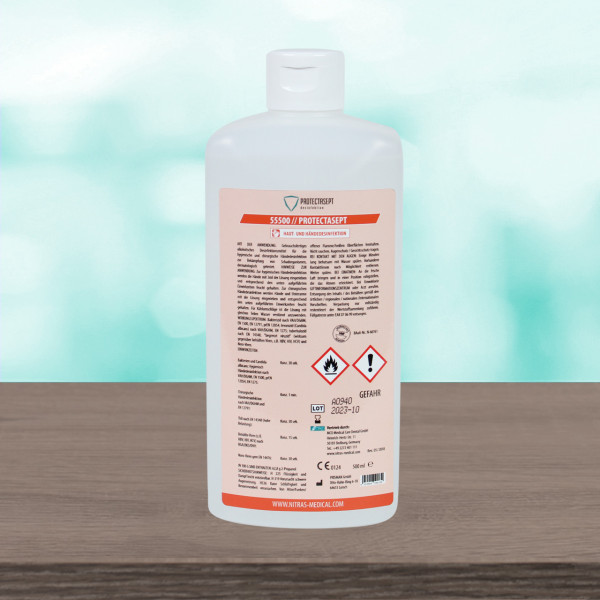 Nitras Medical hand disinfection - 500ml