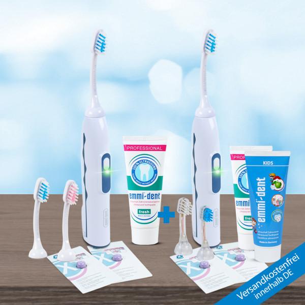 Ultrasonic toothbrush - Professional 2.0. - Double Set