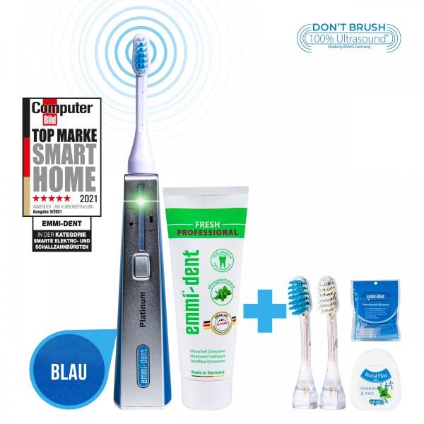 ultrasonic-toothbrush-platinum-blue-all-round-package-carefree-interdental-floss-appliqués
