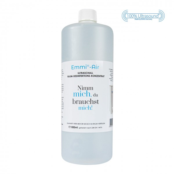 BioDes Ultrasonic room disinfection concentrate 1000ml