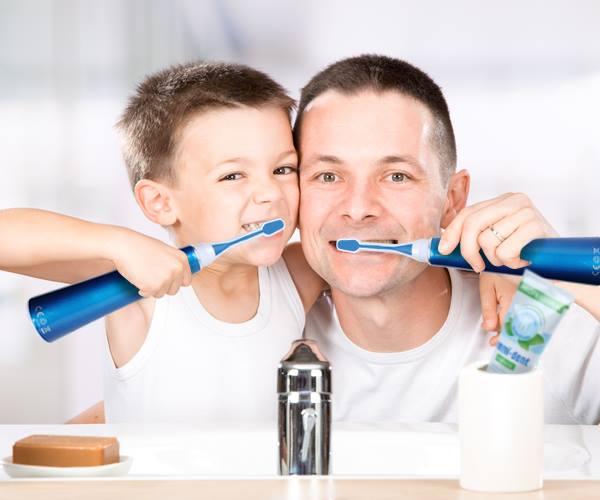 Ultraschallzahbürste für Kinder von emmi®-dent