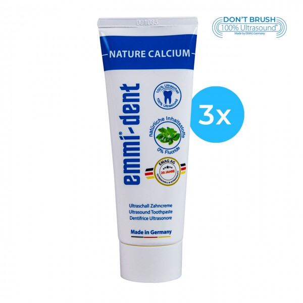 "Ultrasonic Toothpaste - ""nature calcium"" 3"