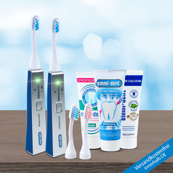 Ultrasonic toothbrush - Platinum Combo Package Mix