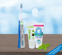 Ultrasonic toothbrush - Platinum Natur Basic Set