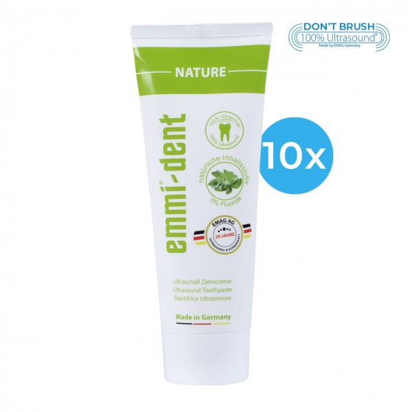 "Ultrasonic Toothpaste - ""nature"" 10"