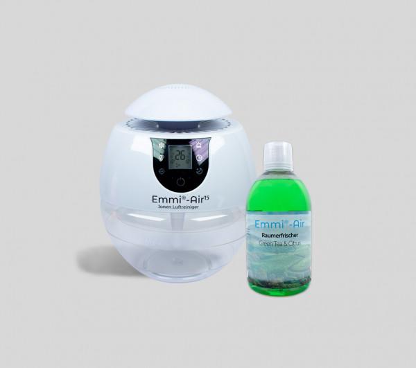Emmi®-Air Ion Air Purifier + Room Freshener Citrus & Green Tea