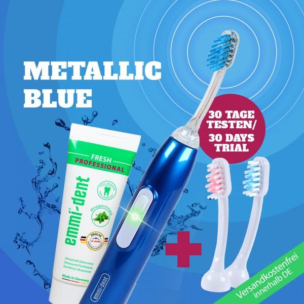 Ultrasonic toothbrush - Metallic Basic Set Dark Blue