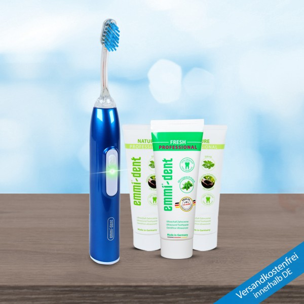 Ultrasonic toothbrush - Metallic Nature Basic Set