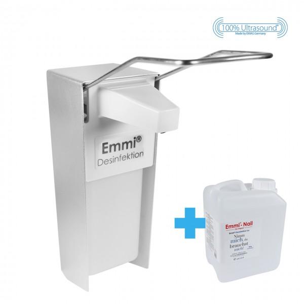 Wall Dispenser + Disinfectant