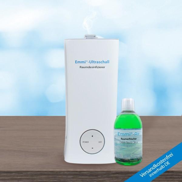 Emmi room air disinfector + Emmi-Air Room Freshener Citrus & Green Tea