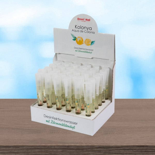Emmi®-Nail Disinfection Water Kolonya + Stand