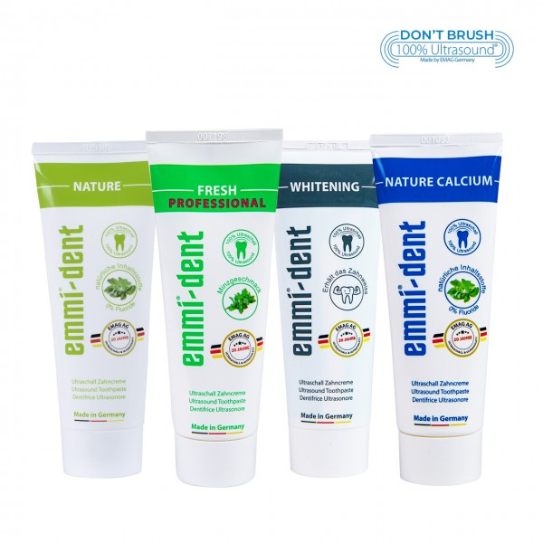 Ultrasonic Toothpaste - Trial-Set 4