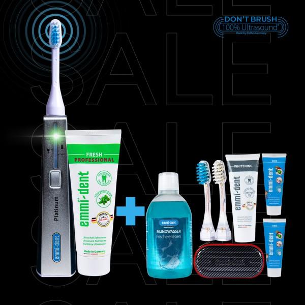"Ultrasonic toothbrush - Platinum ""Carbon"" Edition"
