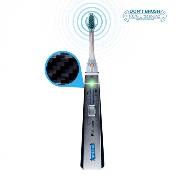 """Ultrasonic toothbrush - Platinum Basis Set """"Carbon"""""""