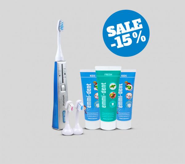 Ultrasonic toothbrush - Platinum Kids Set