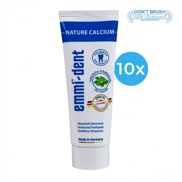 "Ultrasonic Toothpaste - ""nature calcium"" 10"