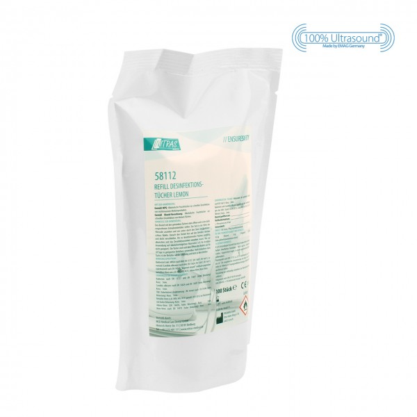 Disinfecting wipes - refill pack