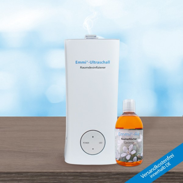 Emmi room air disinfector + Emmi-Air Room Freshener Gardenia