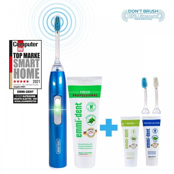 metallic-blue-natur-set-emmi-dent-ultrsonic-toohbrush-with-natur-toothpaste-and-natur-calcium-toothpaste