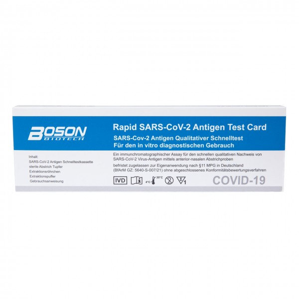 Corona Antigen - Rapid Test, Self-Test for Self-Application