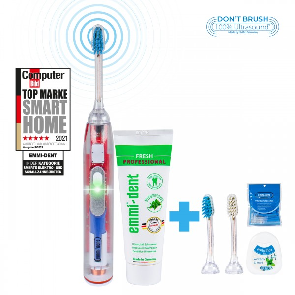 metallic-crystalline-all-round-package-emmi-dent-ultrasonic-toothbrush-with-interdental-brushes-and-floss