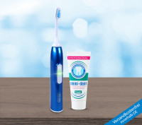 Ultrasonic toothbrush - Basic Set Dark Blue