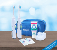 Ultrasonic toothbrush - Professional 2.0. - Travel Box Partner Set