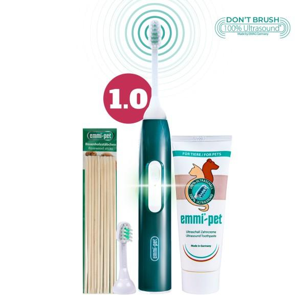 emmi-pet-base-set-1-0-ultrasonic-toothbrush-for-animals-dogs-rosewood-sticks