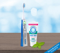 Ultrasonic toothbrush - Platinum Basic Set - Blue