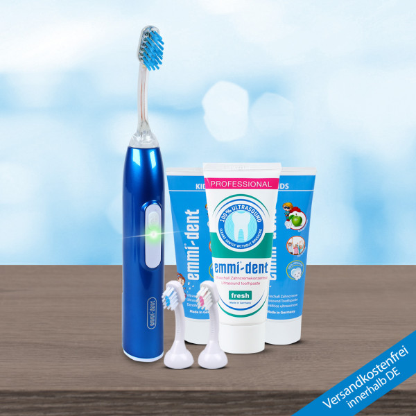 Ultrasonic toothbrush - Metallic Kids Set Dark Blue
