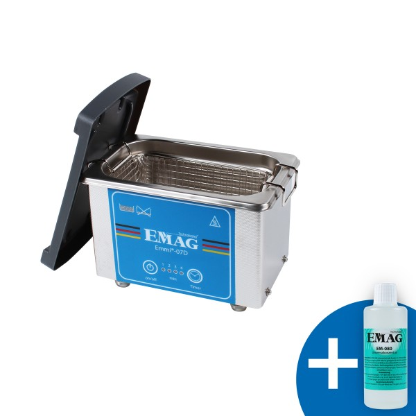 emmi®-07D stainless steel ultrasonic cleaner