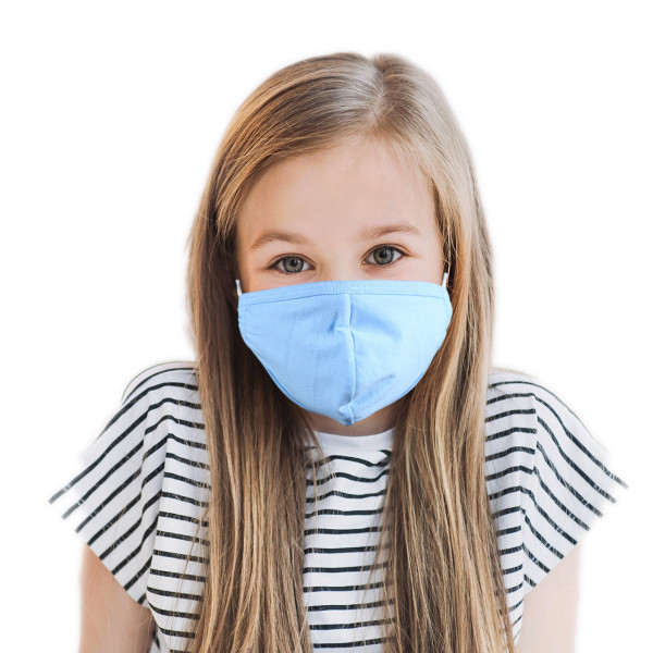 Children mouth and nose mask *blue*