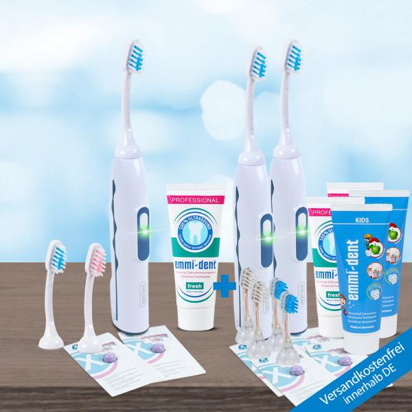 Ultrasonic toothbrush - Professional 2.0. - Triple Set
