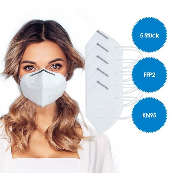 5 Piece - FFP2 Respirator mask KN95