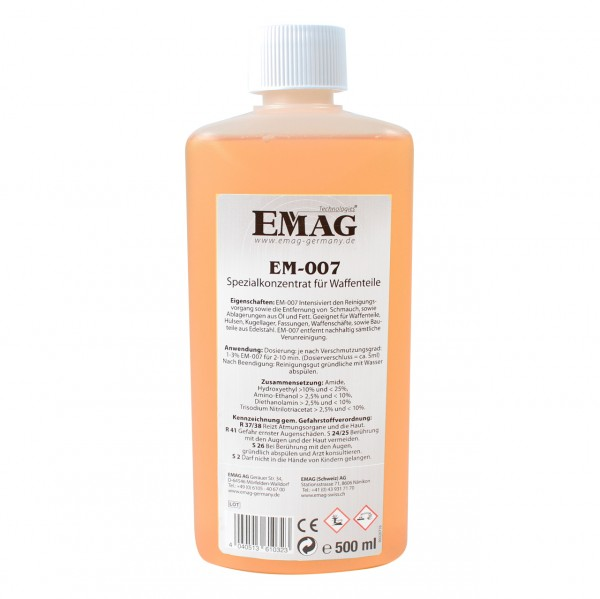 EM-007 Special concentrate for weapon parts 500ml