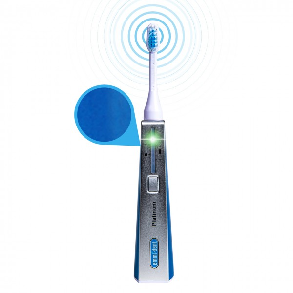 Ultrasonic toothbrush - Platinum Basis Set Blue